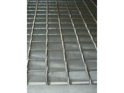Podlahový oceľový rošt SP/34x38/30x3/250x1000, Zn