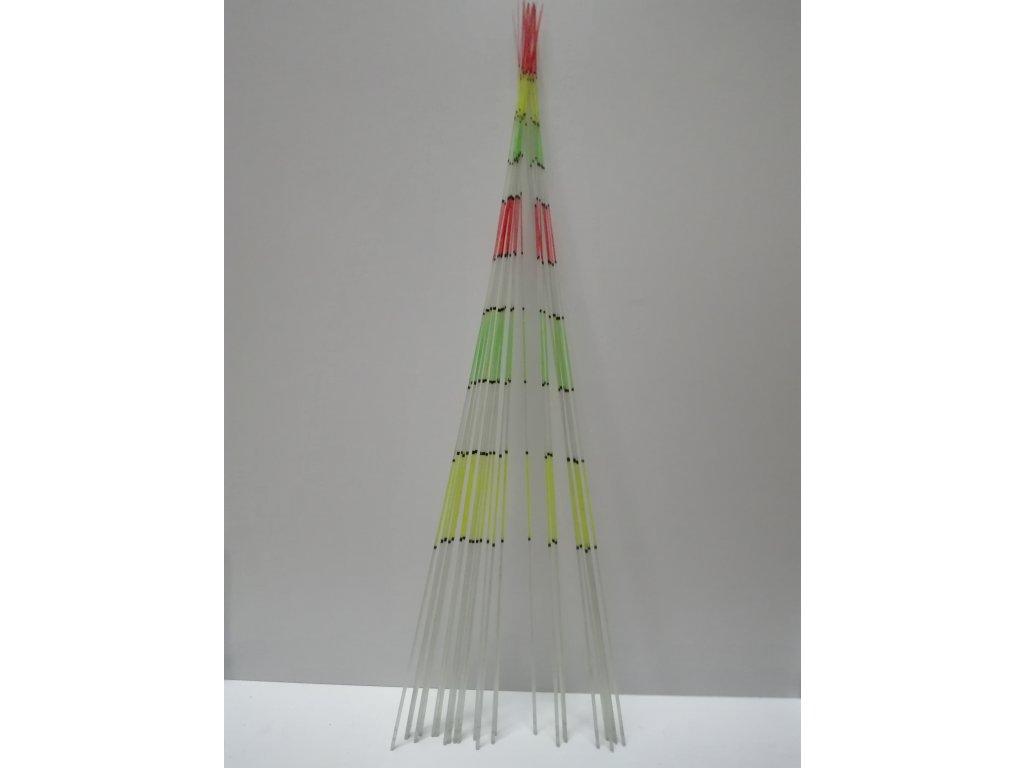 Náhradní barevné sklolaminátové špičky k prutům