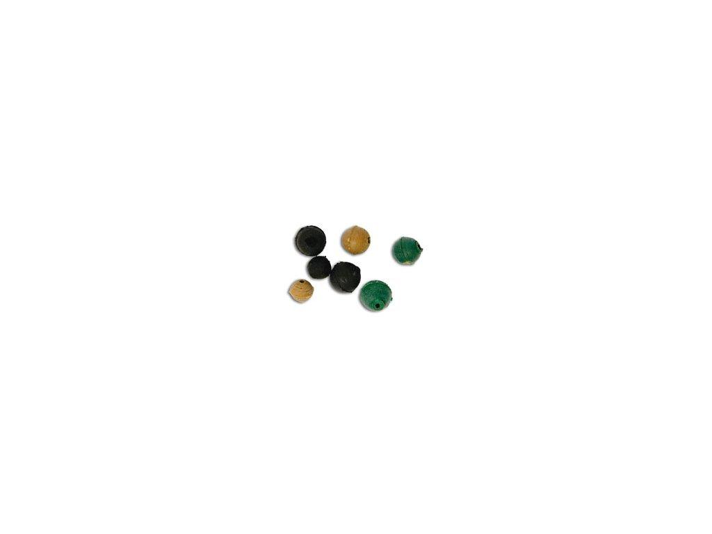 Gumové korálky mix velikostí barevné