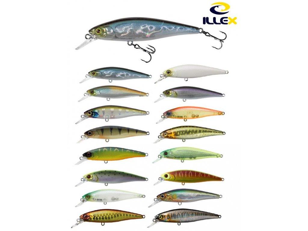 Wobler Illex Squad Minnow 6,5cm