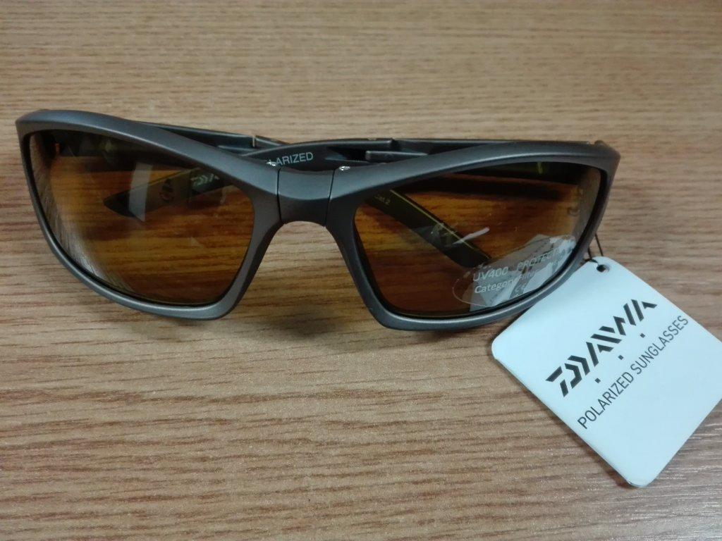 Polarizační brýle DAIWA - šedý rám žluté sklo G10