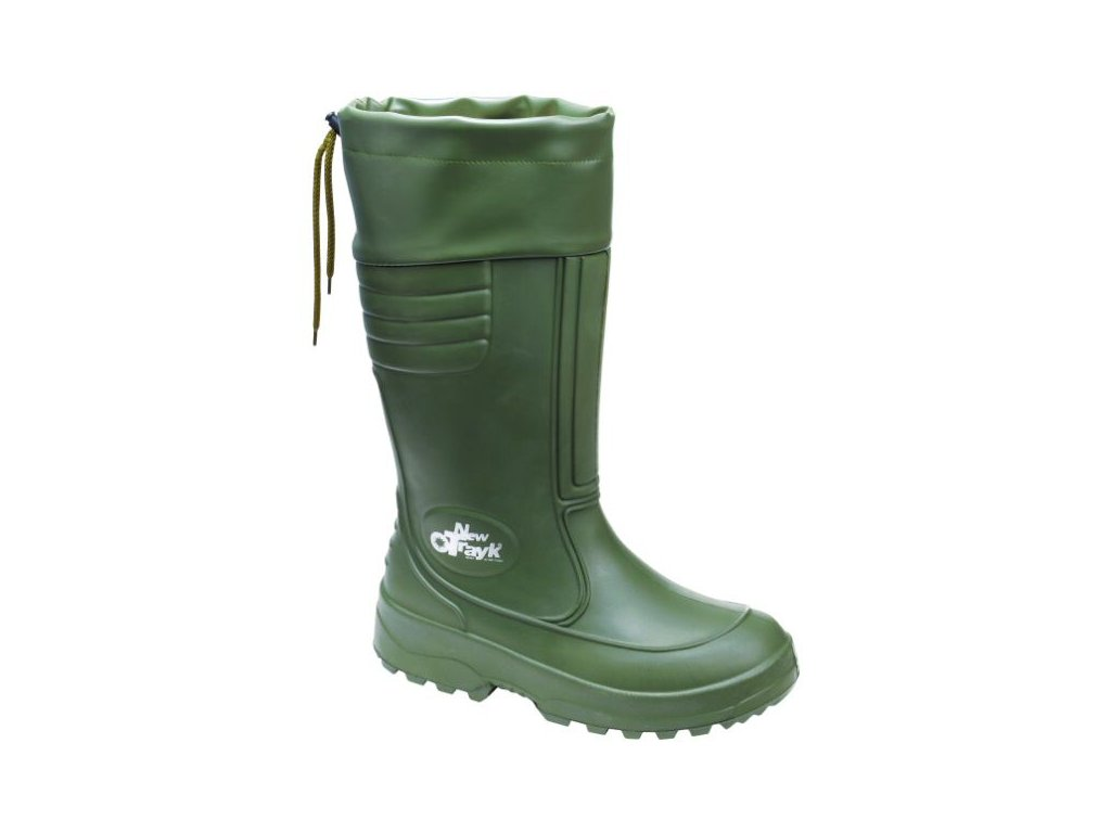 24 DEMAR Panske zimni holinky NEW TRAYK S FUR 0206 zelene