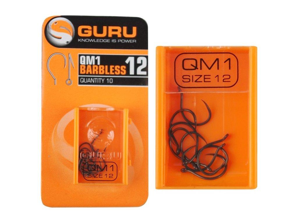 Guru háčky QM1 Barbless
