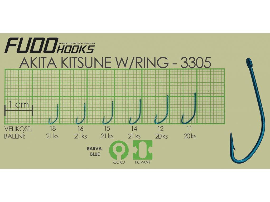 Fudo Akita Kitsune Ringed