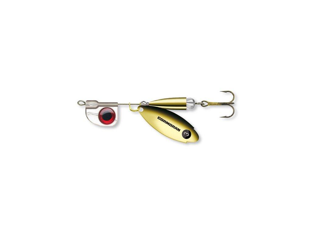 Rotační třpytka Cormoran Bullet AT Long zlatá