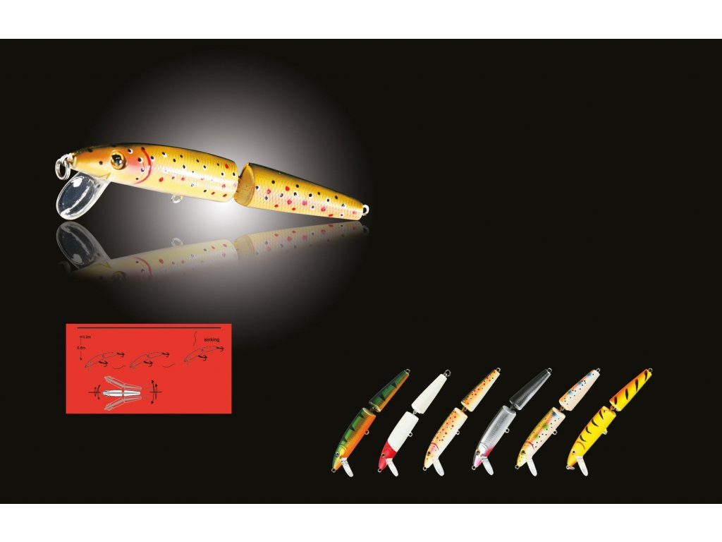 Wobler NOMURA JOINTED MINNOW 4,5 cm