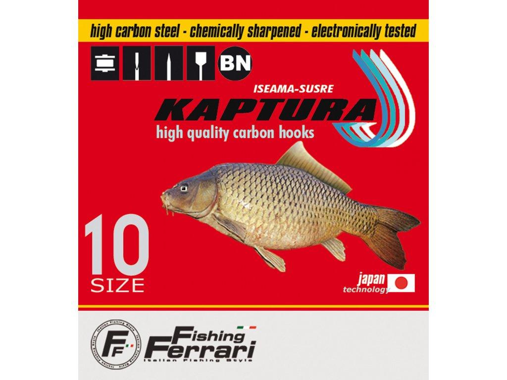 Háčky s lopatkou Bez protihrotu Fishing Ferrari Iseama- Susre