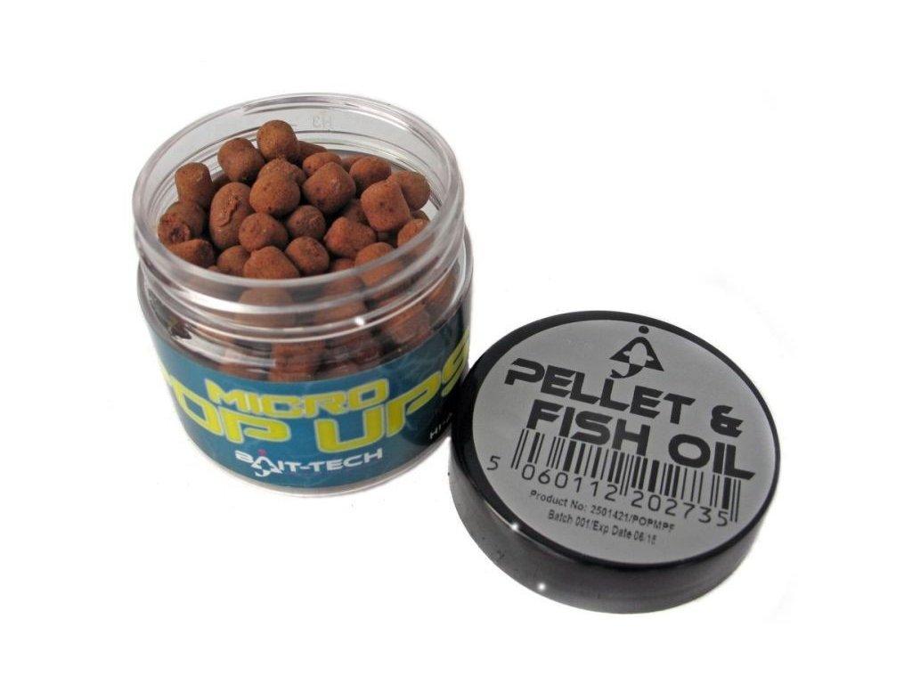 Bait-Tech Boilies Micro Pop-Ups Pellet & Fish Oil 50ml