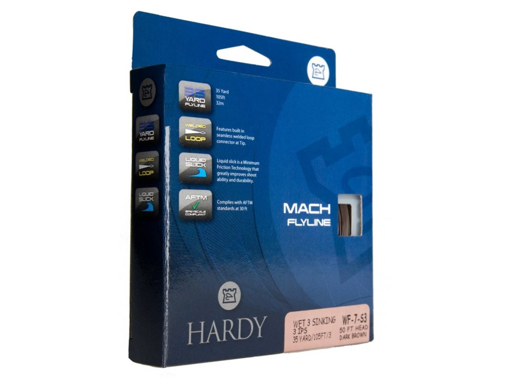 Hardy Muškařská šňůra MACH CLEAR INT. WF6 (HLMHI06)- Doprodej!