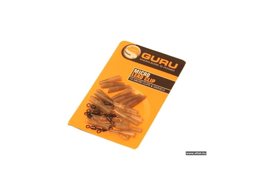 Micro Lead Clip, Swivels & Tail Rubbers - 10 stuks de chaques