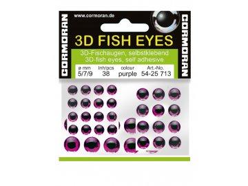 Samolepící rybí oči Cormoran 3D oči