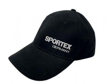 Kšiltovka SPORTEX s logem - černá 2020