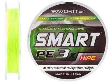 PE Line Favorite Smart PE 3x 150м (fl.yellow)
