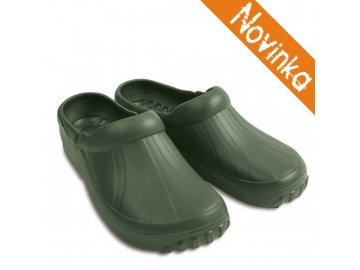 371 demar panske pantofle new eva clog 4842 zelene novinka