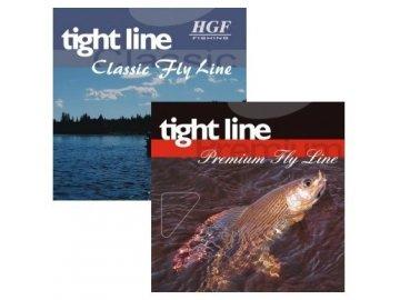 HGF Muškařská šnůra Tight Line WF-6FS dark