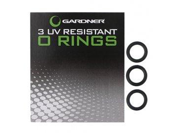 Podložkové kroužky UV Resistant O-Rings, 3ks