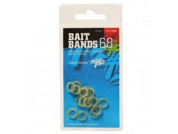 Silikonové kroužky Bait Bands 6,8mm/15pc