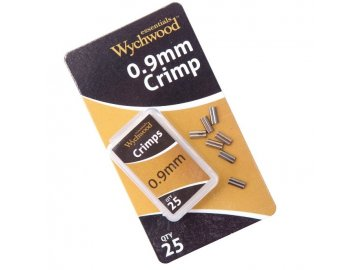 Kovové spojky Wychwood 0.6mm Crimps 25ks