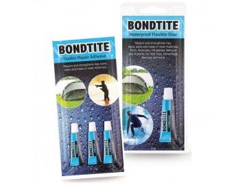 Snowbee Lepidlo Bondtite Waterproof Flexible Glue 3x5g