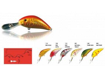 Wobler Nomura DEEP WATER CRANK 5 cm