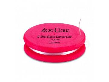 Elastický vlasec D-Shot Elastic Dancer Line