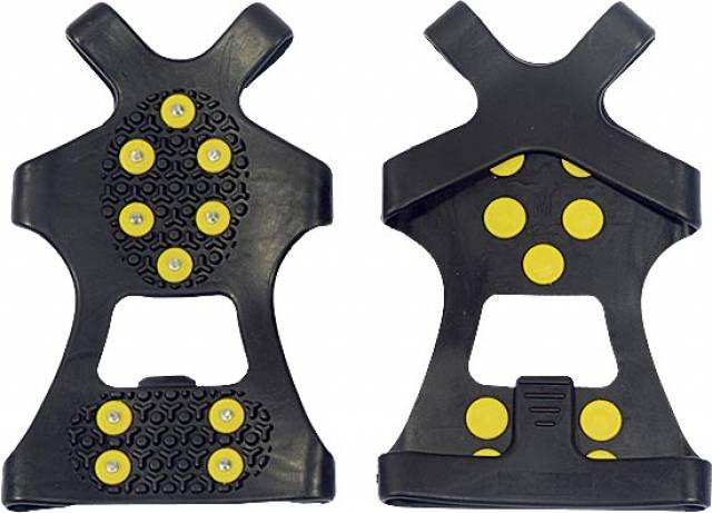 Protiskluzové návleky na boty s kovovými hroty Velikost: Xl