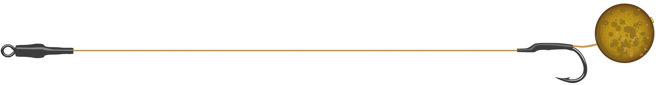 Boiliesové návazce Classic Boilie Rig ST Velikost: 4, 25 lbs