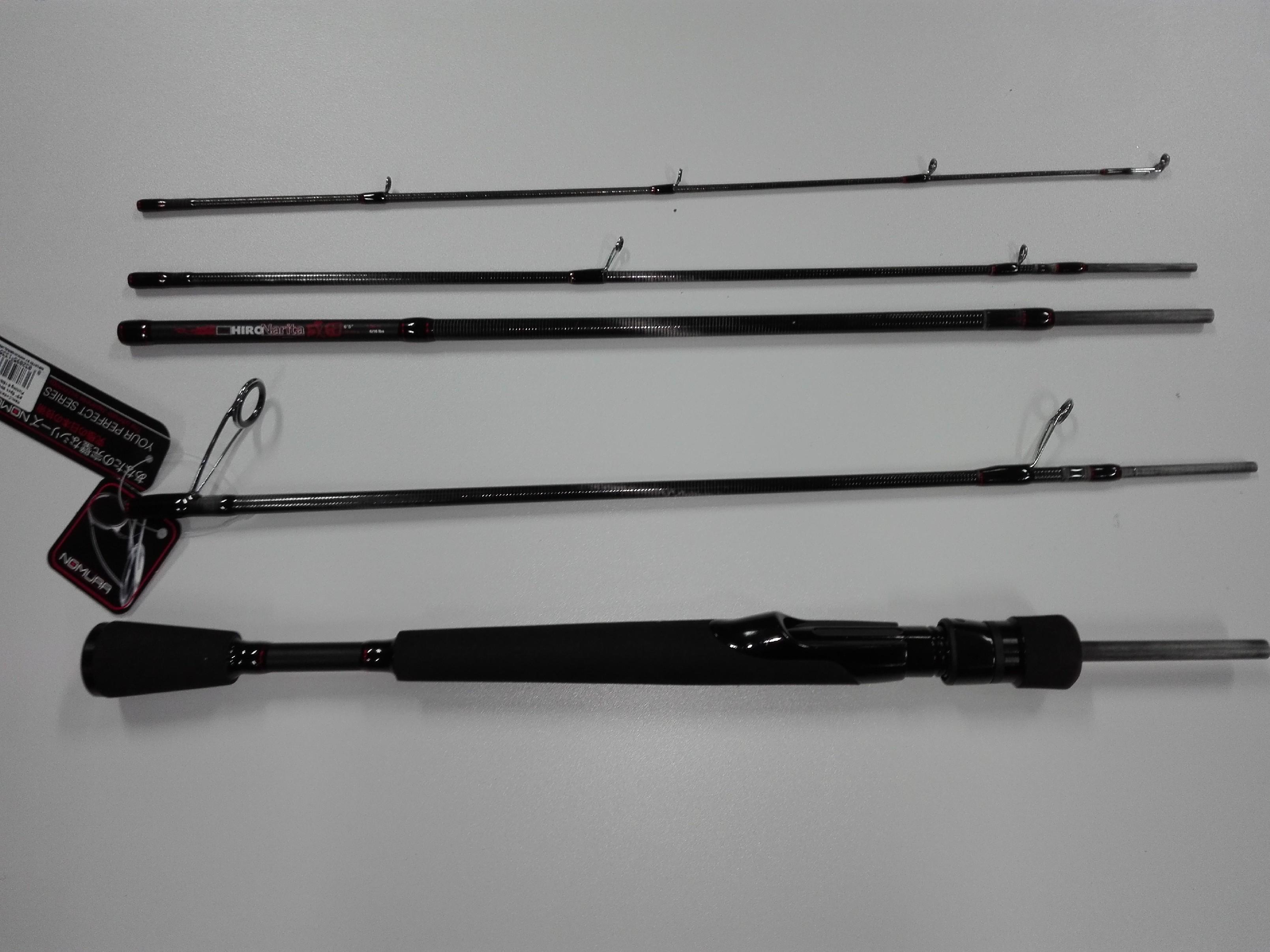 Cestovní přívlačový prut Nomura HIRO NARITA Gramáž: 20-50 gr, Počet dílů: 5, Délka prutu: 196 cm, Skladnost prutu: 44 cm, Váha prutu: 134 gr