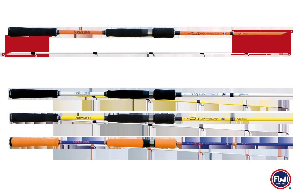 Prut na přívlač NOMURA IZU-SW EGI SPECIALIST Gramáž: 8-15 gr, Počet dílů: 2, Délka prutu: 210 cm, Skladnost prutu: 110 cm, Váha prutu: 118 gr