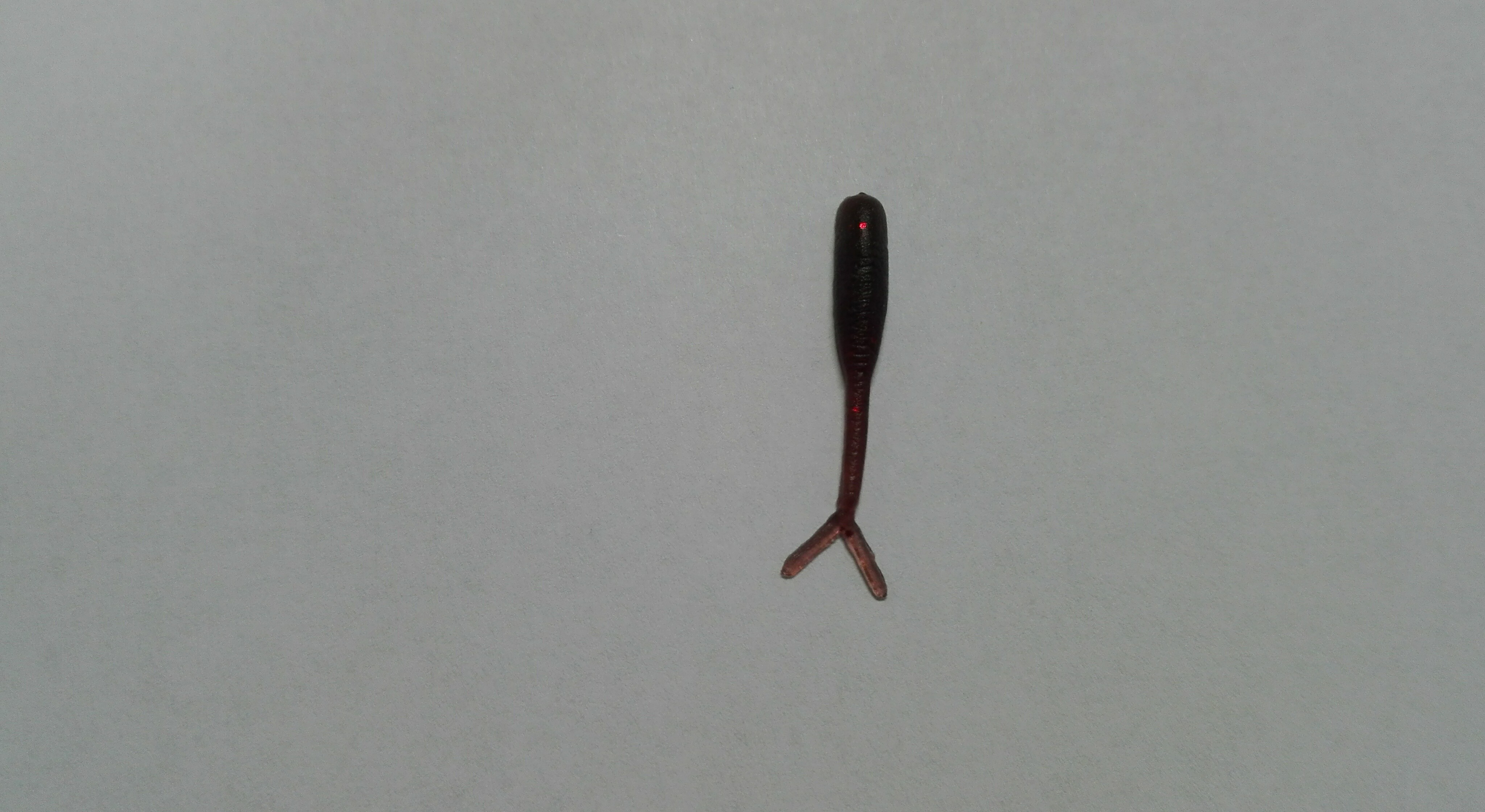 Smáček mini 2,5 cm Barva: 5 Hnědá červený glitr