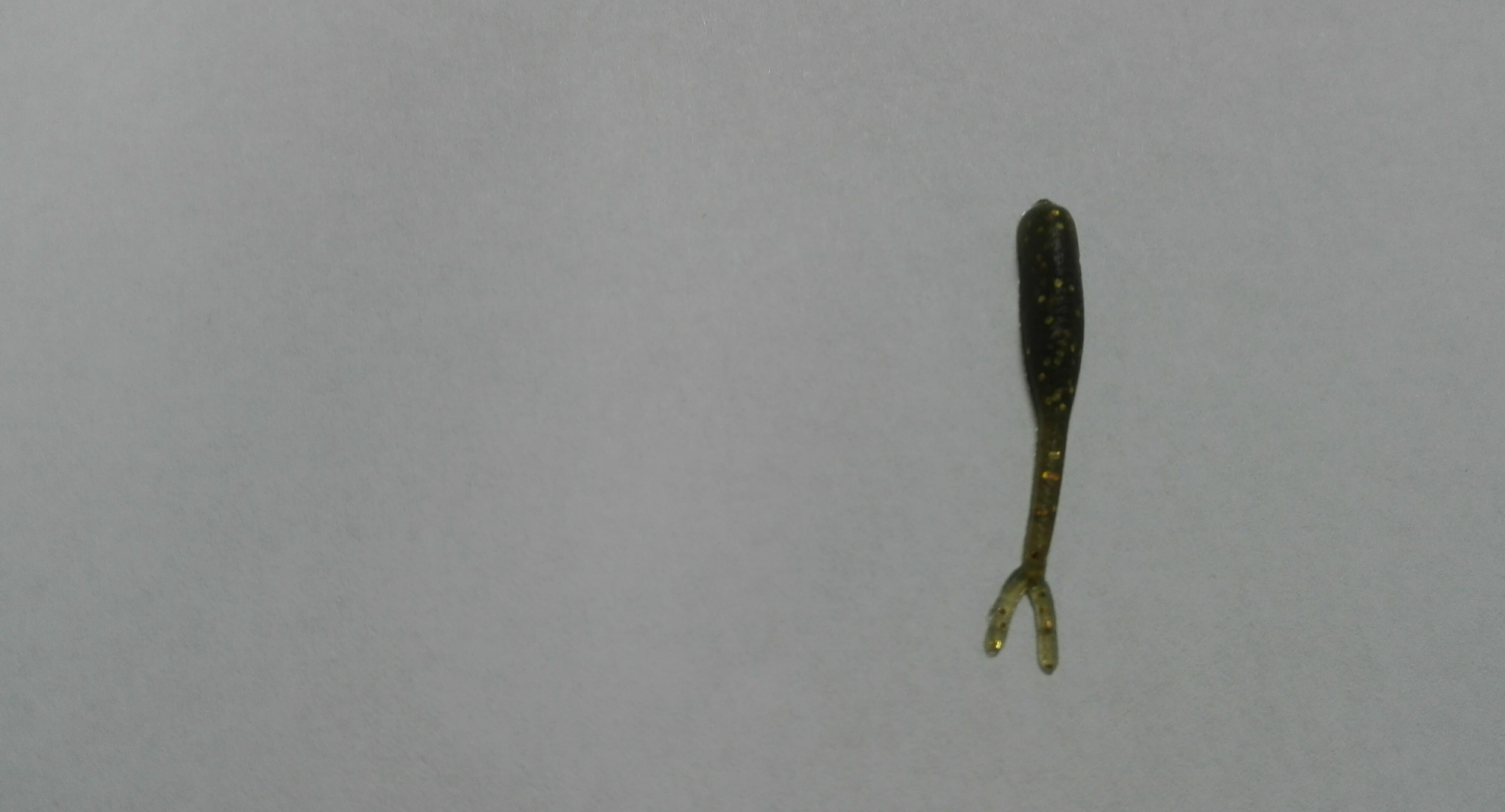Smáček mini 2,5 cm Barva: 4 Tmavě zelená zlatý glitr