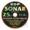 ESP šňůra Sonar Marker 25lb 200m