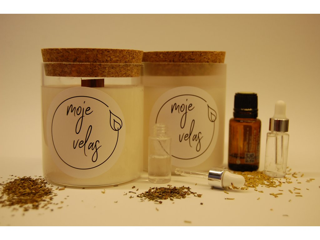 Osobní aromaterapeutická svíčka