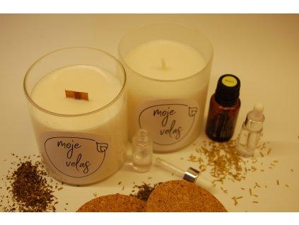 Osobní aromaterapeutická svíčka a osobní vůně v roll-onu