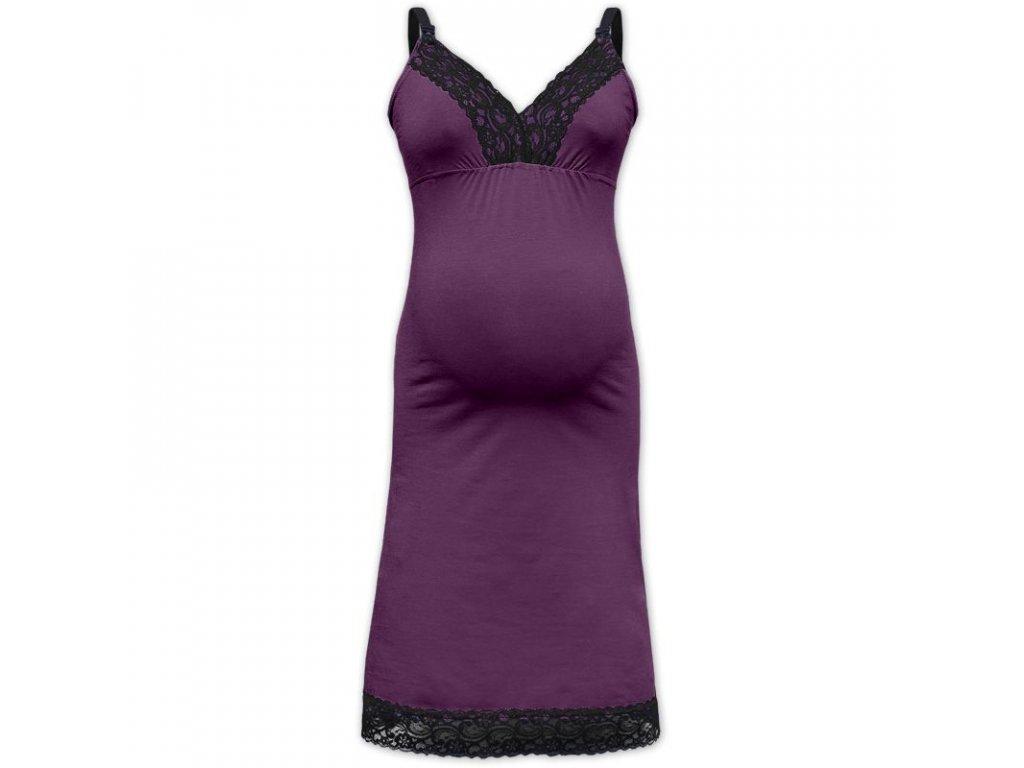 Krajková noční košilka pro těhotné a kojící - různé barvy - Moje ... b41a2b4306