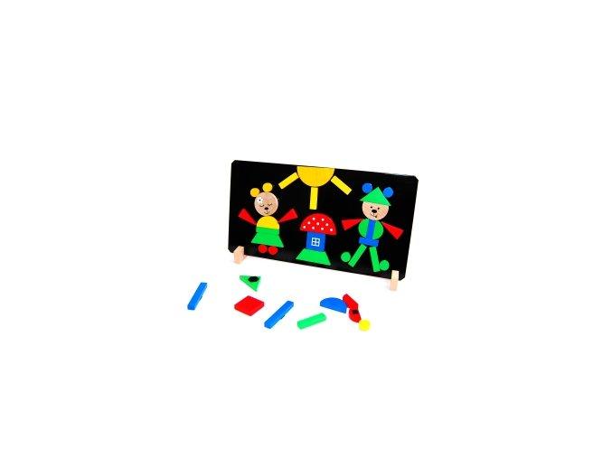 Magnetické puzzle Medvědi
