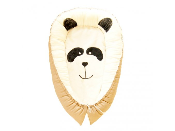 NUF hnizdo pro miminko malovane panda