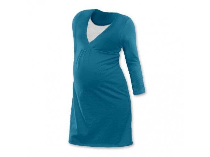 Těhotenská a kojicí noční košile s vsadkou, různé barvy