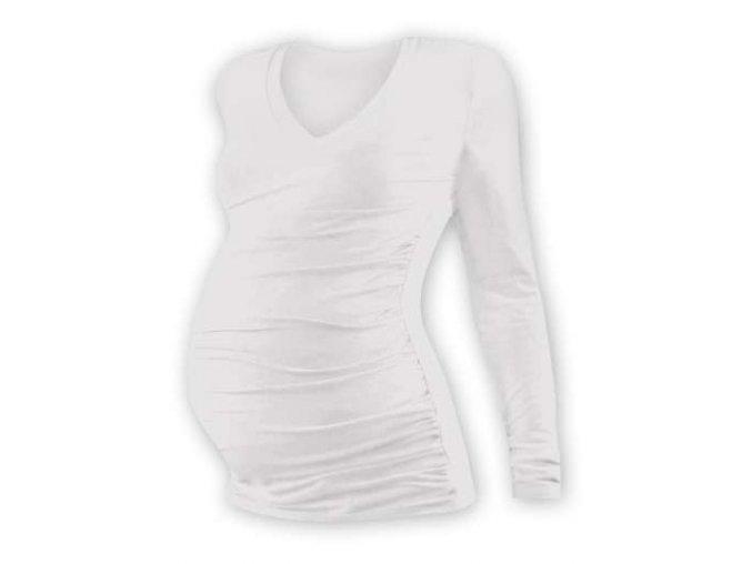 Těhotenské tričko Vanda - dlouhý rukáv, různé barvy