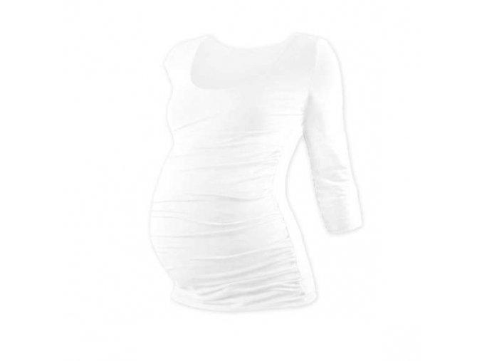 Těhotenské tričko Johanka - 3/4 rukáv, různé barvy