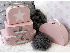 kufřík růžový 1
