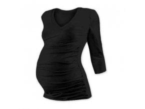 Těhotenské tričko Vanda - 3/4 rukáv, různé barvy