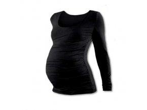 Těhotenské tričko Johanka - dlouhý rukáv, různé barvy