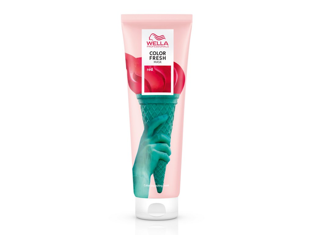 Wella Professionals Color Fresh Mask Red (Velikost 150 ml)