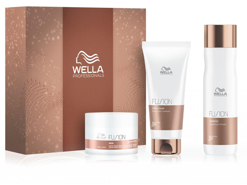 Wella krabice 2020 FUSION+produkty 3D