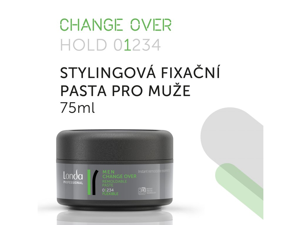 LONDA Styling men CHANGE OVER Paste 75ml 03