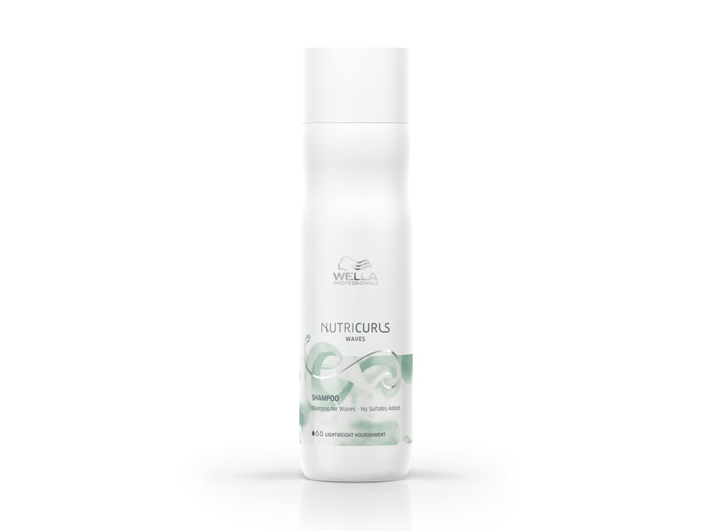 Wella Professionals NutriCurls Shampoo for Waves (Velikost 50 ml)