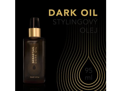 SP DarkOil HairStylingOil 95ml 03