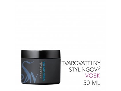 SP ShineCrafter MouldableHairStylingWax 50ml 03