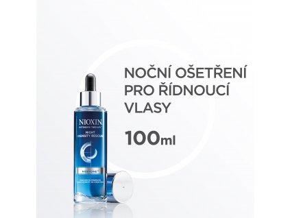 Nioxin Night Density Rescue (Velikost 70 ml)